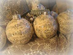 diy note ornaments musical craftiness