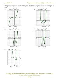 functions and graphs worksheets worksheets