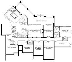 country style house plan 5 beds 6 baths 8620 sq ft plan 453 469