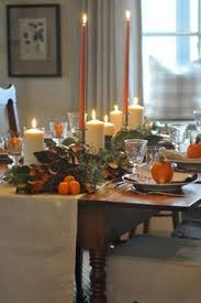 fall tablescape with greenery and the best chicken tortilla soup