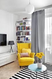 Ikea Living Room Chairs Strandmon Chair Ikea This Yellow Living Room 2