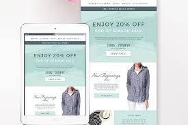 sales fashion email template email templates creative market