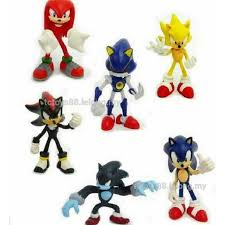 sonic cake topper sonic g2 figure figurine end 12 29 2017 6 20 pm
