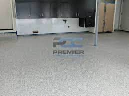 Cabinets Columbus Ohio Epoxy Flake Flooring Columbus Ohio Premier Concrete Coatings
