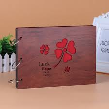 unique photo albums aliexpress buy unique diy mahogany photo album with large