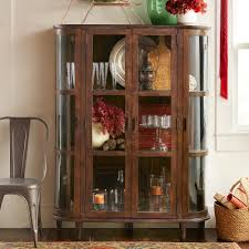 rustic wood display cabinet cabinets shelves desks furniture home furnishings robert