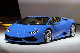 Lamborghini Huracan Spyder - lamborghini huracan spyder hits 201 mph with the top down