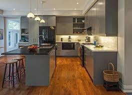 kitchen decorating grey floors white cabinets grey kitchen