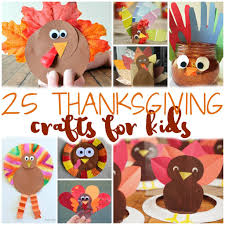 25 easy thanksgiving crafts for kids to keep them busy before dinner