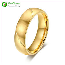 ring plain wedding ring plain gold ring without stones for men view