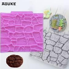 Decoration Fondant Cake Aouke Stone Rock Rocky Decoration Fondant Cake 3d Cake Tool Diy