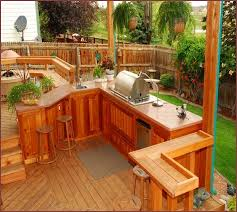 outdoor kitchen ideas on a budget build an outdoor kitchen on a deck home design ideas