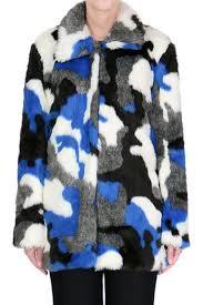 Faux Fur Electric Throw Camo Faux Fur Coat From San Francisco By Capulet U2014 Shoptiques