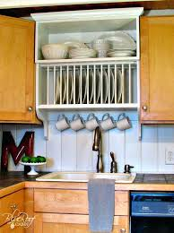 kitchen cabinet upgrade plate rack for cabinet upgrade kitchen cabinets build a custom