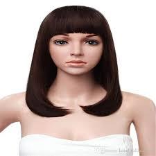 shortcut for black hair fashion wig brazilian human hair full lace wig shortcut black women