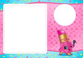 shopkins halloween background convite com foto 2 convite 2 shopkins shopkins party printables