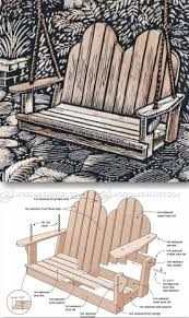 Plans For Wooden Porch Furniture by 25 Best Outdoor Furniture Plans Ideas On Pinterest Designer