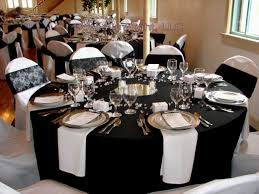 Amazing Black White Themed Party Decorations Decorating Party