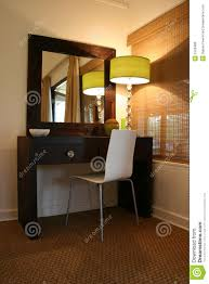 modern african interior bedroom dressing table royalty free stock