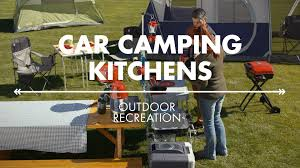Camp Kitchen Ideas by Amazon Outdoor Recreation Car Camping Kitchens Youtube