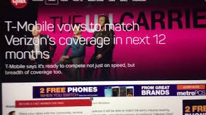 At T Coverage Map Alaska by T Mobile Claims To Match Verizon U0027s Coverage Within The Next 12