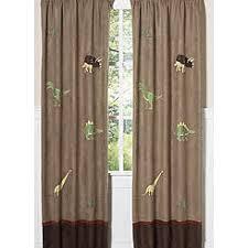 Jungle Nursery Curtains Multi Colored Drapes U0026 Curtains Kmart