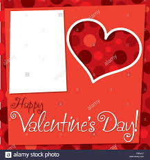 retro valentines cut out retro s day card in vector format stock vector