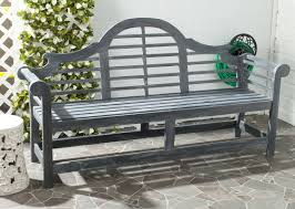 one allium way liddie acacia wood garden bench u0026 reviews wayfair