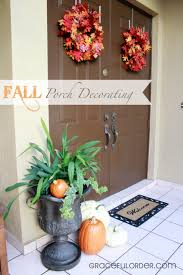 fall porch decorating ideas graceful order