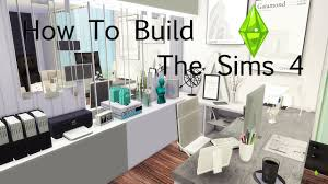 how to build a room young architect home office the sims 4