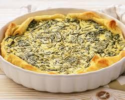 cuisine legere et dietetique recette quiche diététique aux épinards frais et aux sardines
