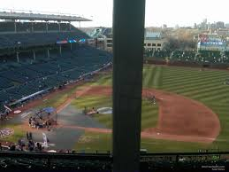 Chicago Cubs Seat Map by Wrigley Field Section 529 Chicago Cubs Rateyourseats Com