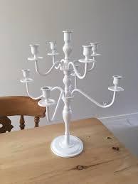 vintage shabby chic candle stick candelabra in keynsham bristol