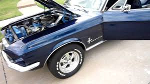 Black 67 Mustang Coupe 67 Mustang Coupe For Sale Youtube
