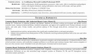 Computer Repair Technician Resume Awesome Laboratory Animal Technician Sample Resume Resume Sample