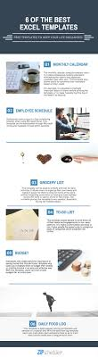 Microsoft Excel Templates Infographic 6 Free Microsoft Excel Templates You Need To