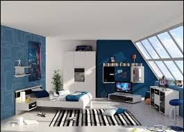 Red White And Blue Bedroom Ideas Good Blue And White Room Decor 14 With Additional With Blue And