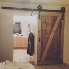 how to make your own barn door hardware homemade barn door youtube