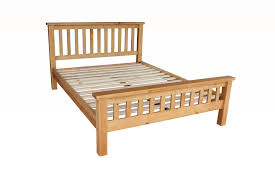 Solid Wood Bed Frame King Country Pine 5ft King Bed Solid Pine Pine Slats With Center