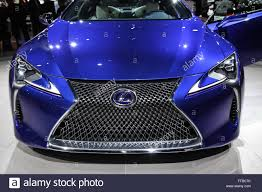lexus new york auto show new york ny usa 23 march 2016 a lexus lc 500h shown at the