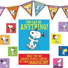 peanuts you can be anything classroom decor set