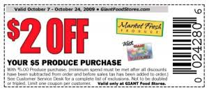 food coupons food stores 2 5 produce purchase coupon