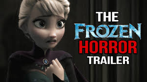 if frozen was a horror film youtube