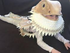 Bearded Dragon Halloween Costume Completely Custom Bearded Dragon Costume