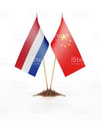 Image Chinese Flag Miniature Flag Of China And Holland Stock Photo Istock