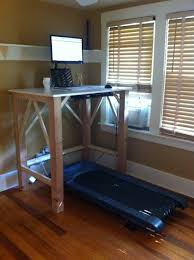 do it yourself standing desk diy walking desk exle curated by workwhilewalking com do it