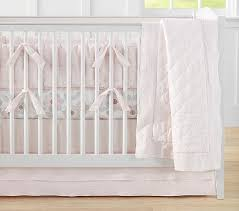 Pottery Barn Kids Baby Bedding Belgian Flax Linen Eyelet Nursery Bedding Pottery Barn Kids