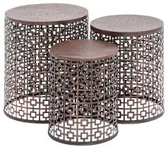 Side Accent Table Small Outdoor Metal Side Table Photo Of Outdoor Accent Table Small