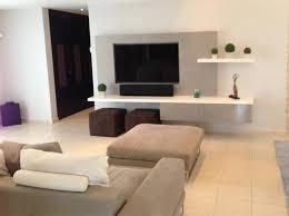 tv units modern living room miami by espacios