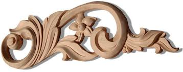 oxnard carved wood scrolls and scroll wood carvings